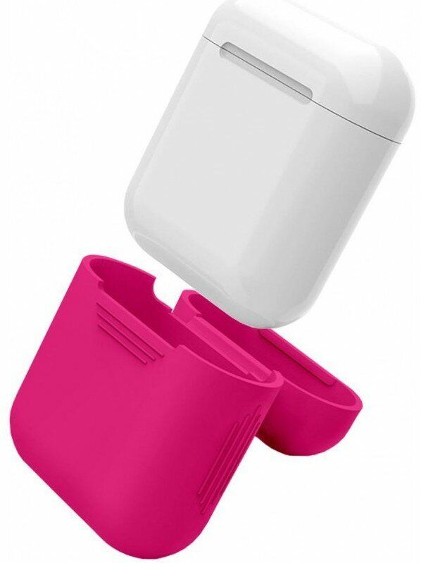 Чoхол Silicone Case для AirPods (pink) купити в Києві. Ціна  4cfe1185b1411