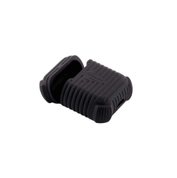Чорний силіконовий чохол для AirPods COTEetCI Case+line Black (CS8108-BK) afe286aaf4fdf