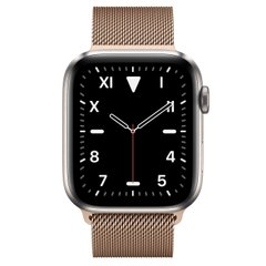Apple Watch Series 5 Edition 44mm Titanium Case with Gold Milanese Loop (MWR62+ MTU72)