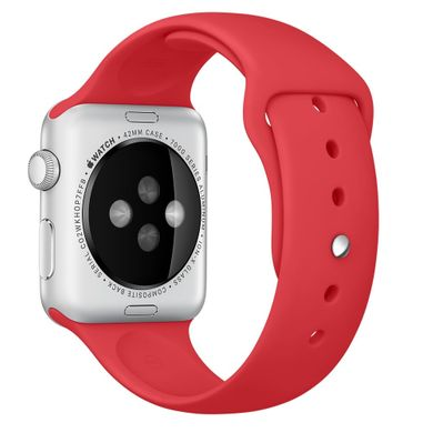 Ремешок Apple 42mm (PRODUCT) RED Sport Band для Apple Watch