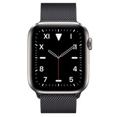 Apple Watch Series 5 Edition 44mm Titanium Case with Space Black Milanese Loop (MWR62+MTU52)