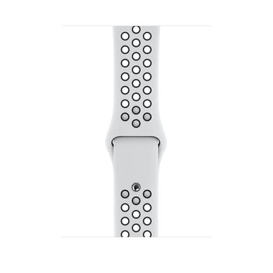 Apple Watch Series 4 Nike+ (GPS) 44mm Silver Aluminum Case with Pure Platinum/Black Nike Sport Band (MU6K2)