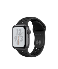 Apple Watch Series 4 Nike+ (GPS) 40mm Space Gray Aluminum Case with Anthracite/Black Nike Sport Band (MU6J2)