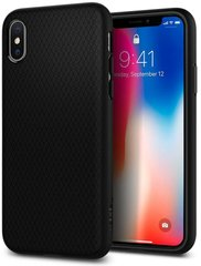 Чехол Spigen Liquid Air для iPhone XS Max (Black)