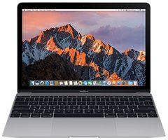 "Ноутбук Apple MacBook 12"" 256GB Space Gray (MNYF2) 2017"