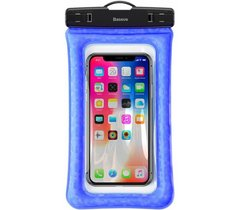 Водонепроницаемый чехол Baseus Air cushion Waterproof bag (ACFSD-A03) Blue