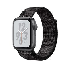 Apple Watch Series 4 Nike+ (GPS) 44mm Space Gray Aluminum Case with Black Nike Sport Loop (MU7J2)