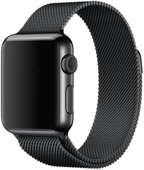 Ремешок для Apple Watch 42/44mm Milanese Loop Band Black (High Copy)