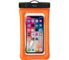 Водонепроницаемый чехол  Baseus Air cushion Waterproof bag (ACFSD-A07) Orange
