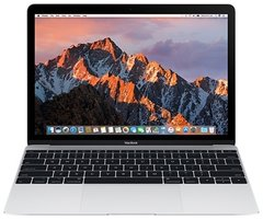 "Ноутбук Apple MacBook 12"" 256GB Silver (MNYH2) 2017"