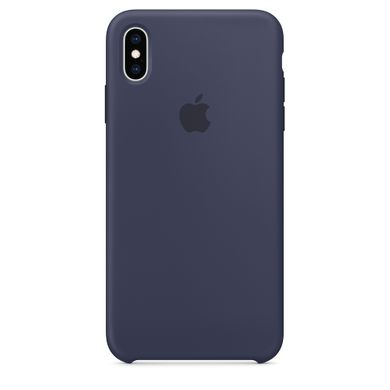 Чехол силиконовый Apple iPhone XS Max Silicone Case (MRWG2) Midnight Blue