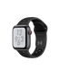 Apple Watch Series 4 Nike+ (GPS+LTE) 40mm Space Gray Aluminum Case with Anthracite/Black Nike Sport Band (MTX82)