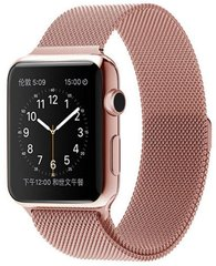 Ремешок для Apple Watch 38/40 mm Milanese Loop Band Rose Gold (High Copy)
