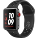 Apple Watch Series 3 Nike+ (GPS+LTE) 38mm Space Gray Aluminum Case with Anthracite/Black Nike Sport Band (MQL62)