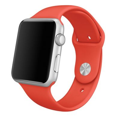 Ремешок Apple 42mm Orange Sport Band для Apple Watch