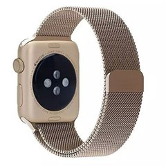 Ремешок для Apple Watch 38/40 mm Milanese Loop Band Gold (High Copy)