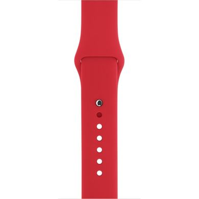 Ремешок Apple 38mm (PRODUCT) RED Sport Band для Apple Watch