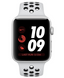 Apple Watch Series 3 Nike+ (GPS+LTE) 42mm Silver Aluminum Case with Pure Platinum/Black Nike Sport Band (MQLC2)