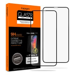 Захисне скло Spigen Screen Protector Glass 3D для IPhone Х/XS