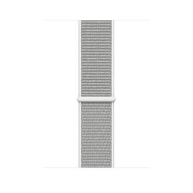 Apple Watch Series 4 (GPS) 40mm Silver Aluminum Case with Seashell Sport Loop (MU652)