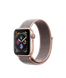 Apple Watch Series 4 (GPS) 40mm Gold Aluminum Case with Pink Sand Sport Loop (MU692)