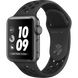 Apple Watch Series 3 Nike+ (GPS) 38mm Space Gray Aluminum Case with Anthracite/Black Nike Sport Band (MQKY2)