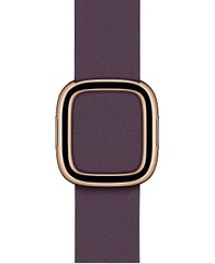 Ремінець Apple Modern Buckle Aubergine - Medium (MWRK2) для Apple Watch 38/40mm