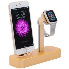 Док-станция для iPhone и Apple Watch COTEetCI Base5 Dock Stand (CS2095-CEG) Золотистая