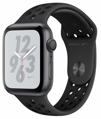 Ремешок Nike+ Apple Watch 38/40 mm Anthracite/Black Nike Sport Band (High Copy)