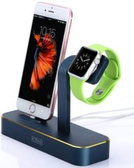 Док-станция для iPhone COTEetCI Base5 2-in-1 Stand (CS2095-BKG) серая