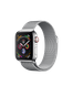 Apple Watch Series 4 (GPS+LTE) 40mm Stainless Steel Case with Milanese Loop (MTUM2)