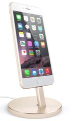 Док-станция для зарядки iPhone Satechi Aluminum Desktop Charging Stand (Gold)