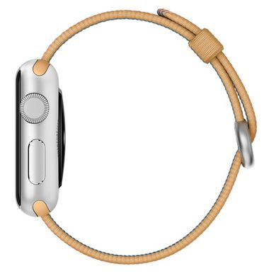 Ремешок Apple 38mm Gold/Red Woven Nylon для Apple Watch