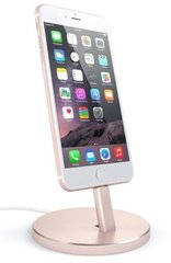 Док-станция для зарядки iPhone Satechi Aluminum Desktop Charging Stand (Rose)