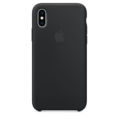 Чехол силиконовый Apple iPhone XS Silicone Case (MRW72) Black