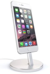 Док-станция для зарядки iPhone Satechi Aluminum Desktop Charging Stand (Silver)