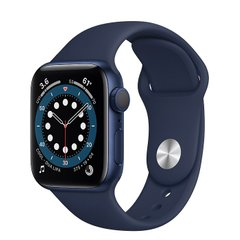 Apple Watch Series 6 40mm Blue Aluminum Case with Blue Sport Band (MG143)