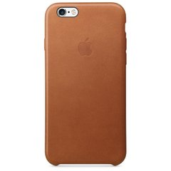 Чохол Apple Leather Case Saddle Brown (MKXC2) для iPhone 6/6s Plus