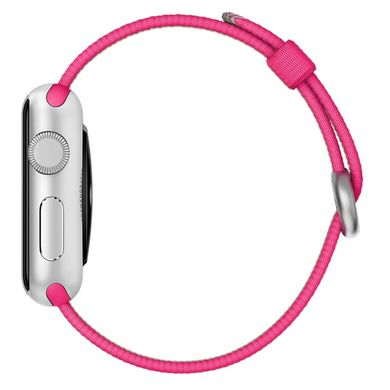 Ремешок Apple 38mm Pink Woven Nylon для Apple Watch