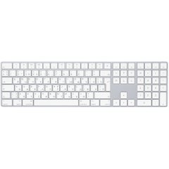 Клавіатура Apple Magic Keyboard with Numeric Keypad Silver (MQ052)