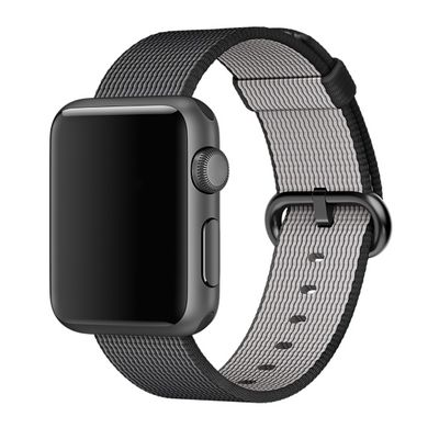 Ремешок Apple 38mm Black Woven Nylon для Apple Watch