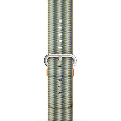 Ремінець Apple 42mm Gold/Royal Blue Woven Nylon для Apple Watch