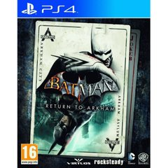 Гра Batman: Return to Arkham для Sony PS 4 (RUS)