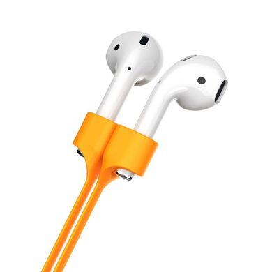 Тримач Baseus Earphone Strap Orange для бездротових навушників Apple AirPods 16033f6b68ef8