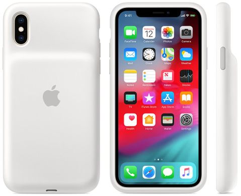 Чехол Apple Smart Battery Case  для iPhone XS (White)